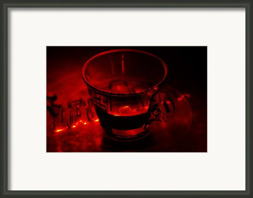 Cozy Evening Cup Of Coffee Framed Print By Jenny Rainbow