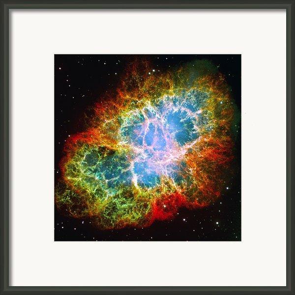 Crab Nebula Framed Print By Don Hammond