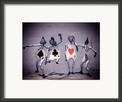 Crazy Aces Framed Print By Bob Orsillo