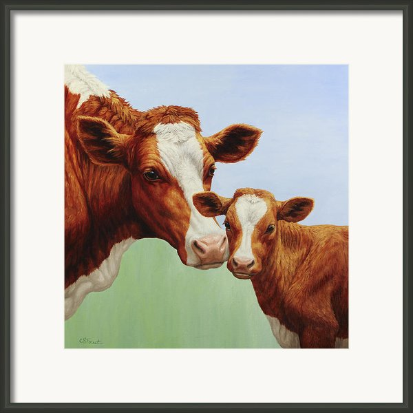 Cream And Sugar Framed Print By Crista Forest