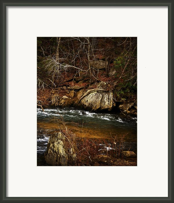 Creek Framed Print By Mario Celzner