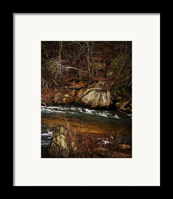 Creek Framed Print By Mario Celzner