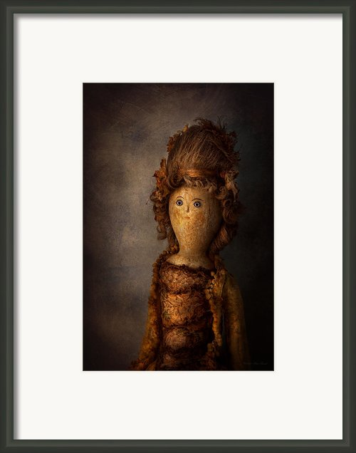 Creepy - Doll - Matilda Framed Print By Mike Savad