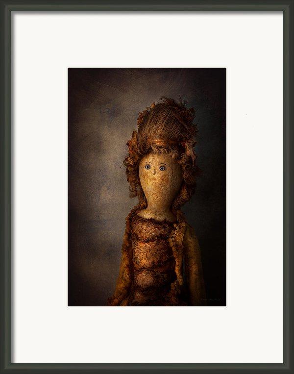 Creepy - Doll - Matilda Framed Print By Mike Savad