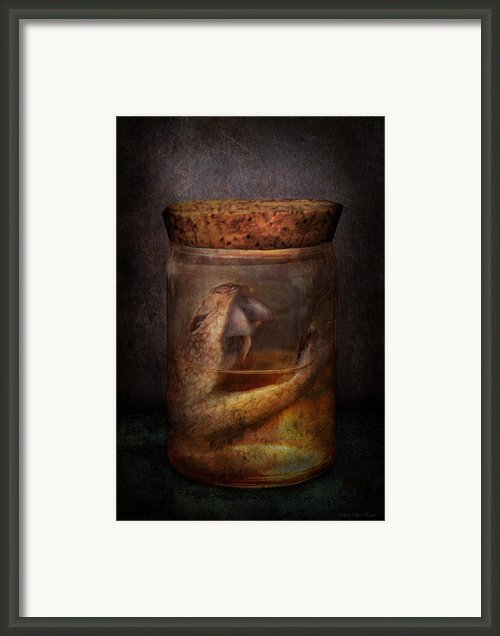 Creepy - Tonight We Eat Snake  Framed Print By Mike Savad