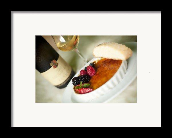Creme Brulee  Framed Print By Shanna Gillette