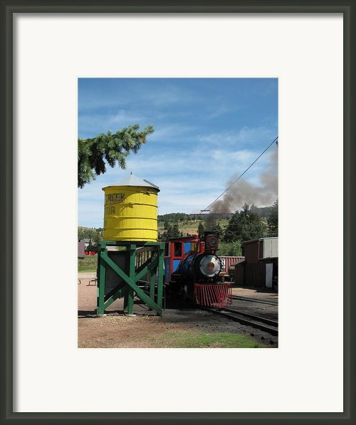 Cripple Creek Train Framed Print By Steven Parker