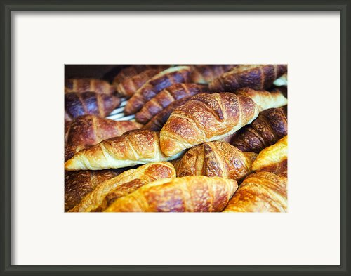 Croissants  Framed Print By Tanya Harrison