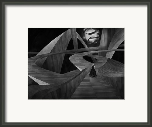 Crossroad Framed Print By Jack Zulli