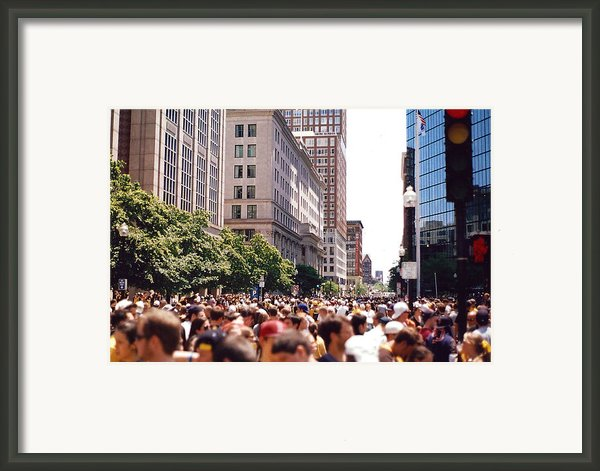 Crosswalk  Framed Print By Brian Nogueira
