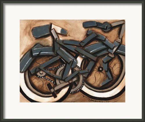 Cruiser Bicycle Framed Print By Tommervik