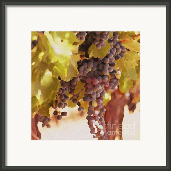 Crush Time Framed Print By Author And Photographer Laura Wrede