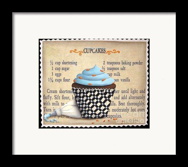 Cupcake Masterpiece Framed Print By Catherine Holman
