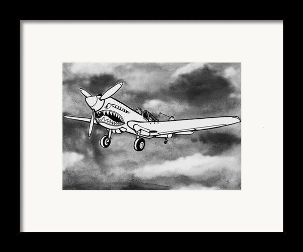 Curtiss P-40 Warhawk 2 Framed Print By Scott Nelson