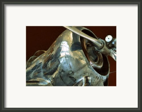 Curtiss-wright Cw-22 Monoplane Framed Print By Michelle Calkins