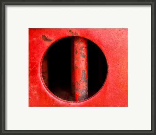 Curvature Framed Print By Tom Druin