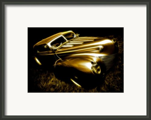 Custom Ford Roadster Framed Print By Phil