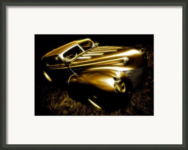 Custom Ford Roadster Framed Print By Phil