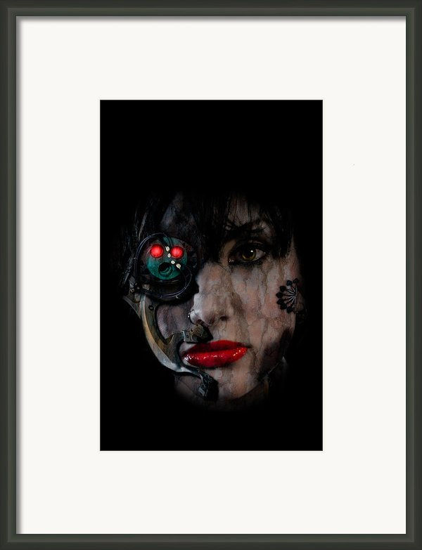 Cyborg Framed Print By Nathan Wright