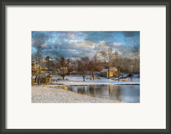 Cyrus Mccormick Farm Framed Print By Kathy Jennings