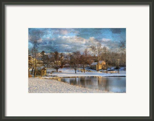 Cyrus Mccormick Farm Framed Print By Kathy Jennings