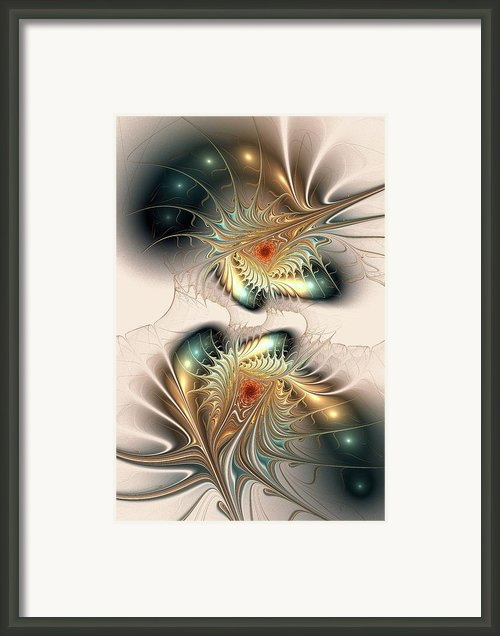 Daemons Within Framed Print By Anastasiya Malakhova