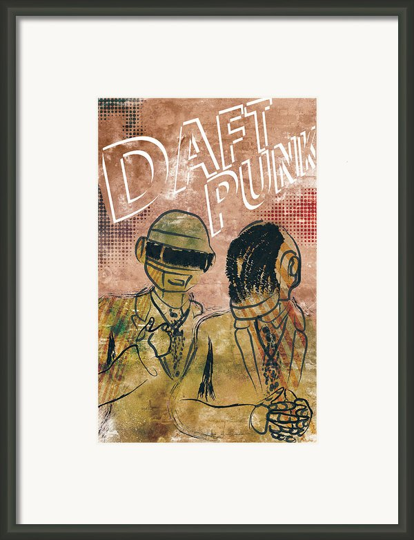 Daft Punk  Framed Print By Jackson