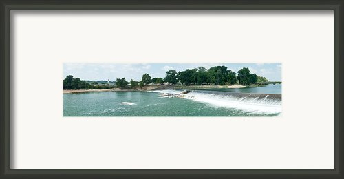 Dam At Batesville Arkansas Framed Print By Douglas Barnett