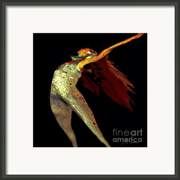 Dance Free Framed Print By Author And Photographer Laura Wrede