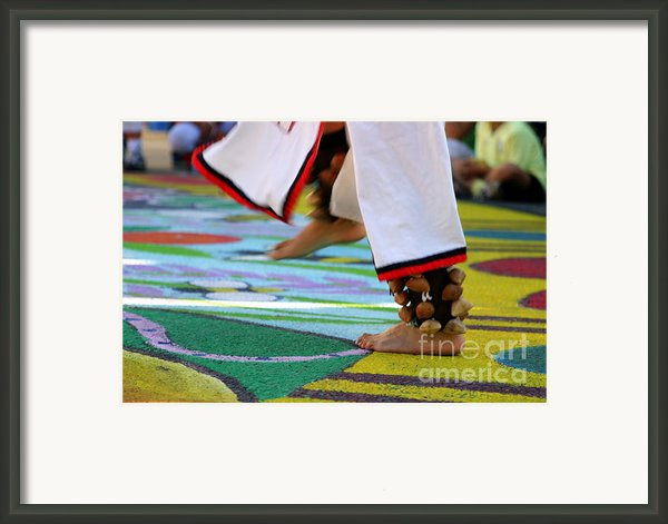 Dancing Feet Framed Print By Henrik Lehnerer