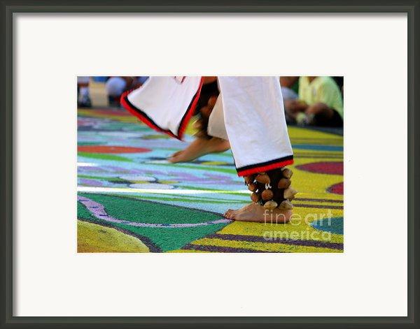 Dancing Feet Framed Print By Henrik Lehnerer