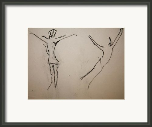 Dancing Girls Framed Print By Elena Svobodina