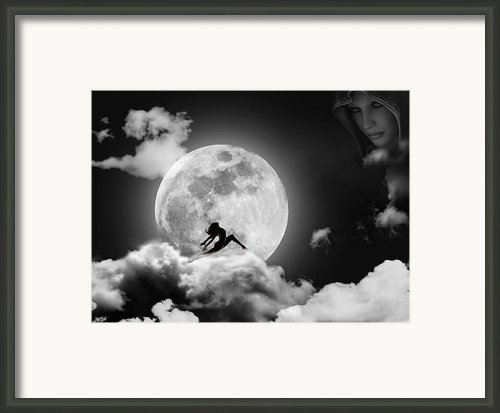 Dancing In The Moonlight Framed Print By Alex Hardie