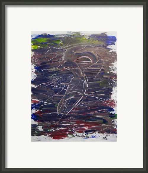 Dancing On A Knife Edge Framed Print By Nathan Whitaker