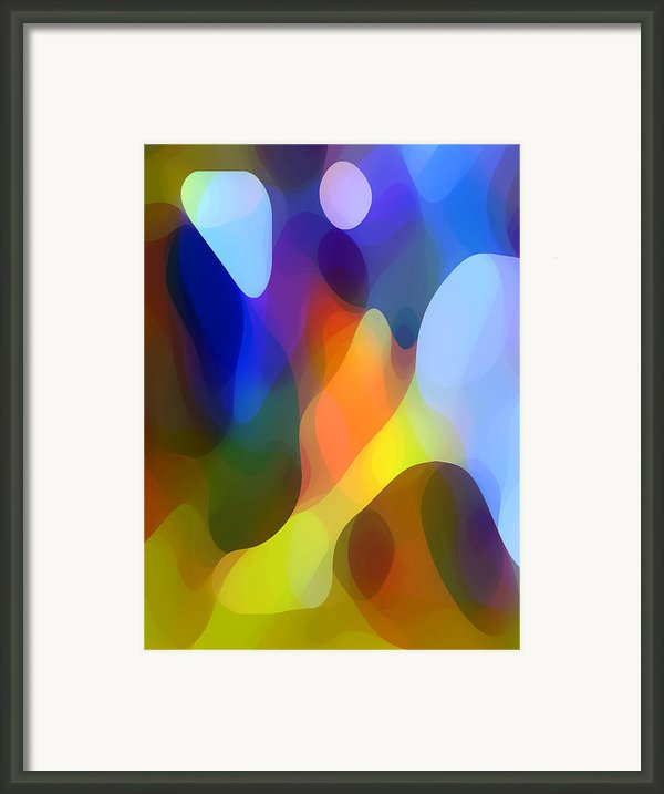 Dappled Light Framed Print By Amy Vangsgard