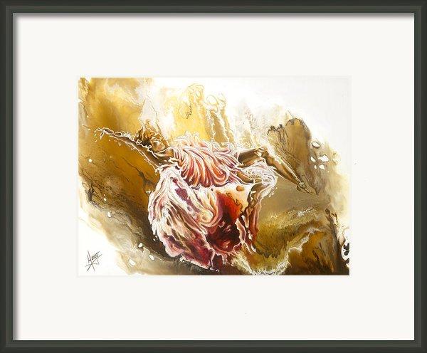 Dare Framed Print By Karina Llergo Salto
