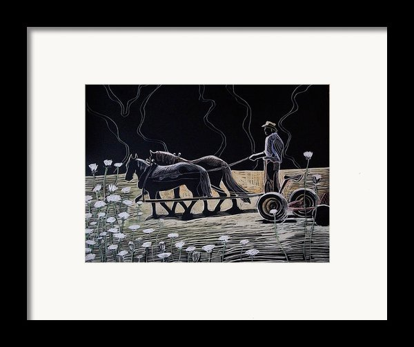 Dark And Light Framed Print By Grace Keown