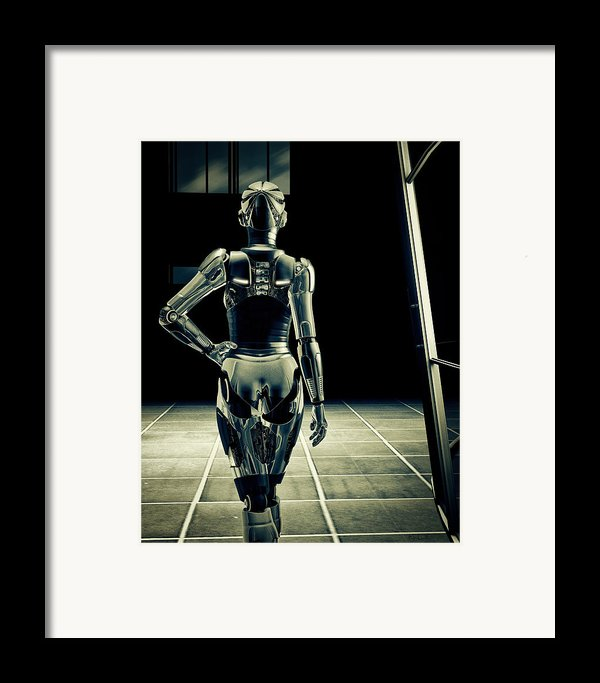 Dark Hall Framed Print By Bob Orsillo