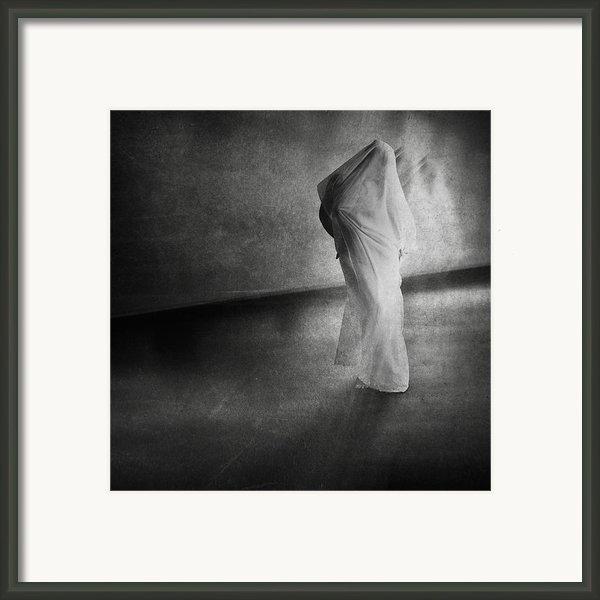Dark Hallway Framed Print By Erik Brede