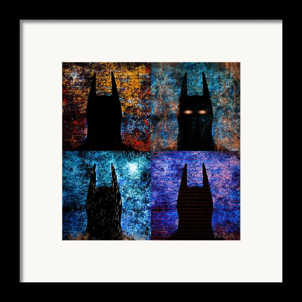 Dark Knight Number 5 Framed Print By Bob Orsillo