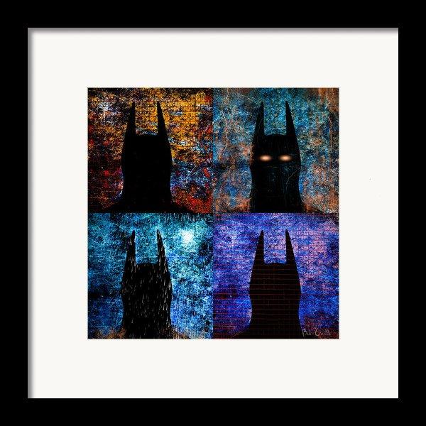 Dark Knight Number 5 Framed Print By Bob Orsillo
