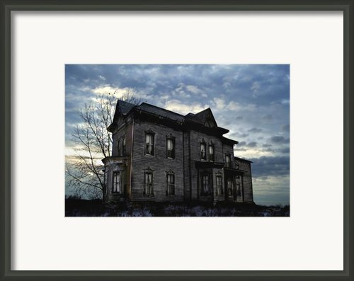 Dark Ruttle County Framed Print By Tom Straub