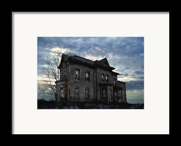 Dark Ruttle County Framed Print By Tom Straub