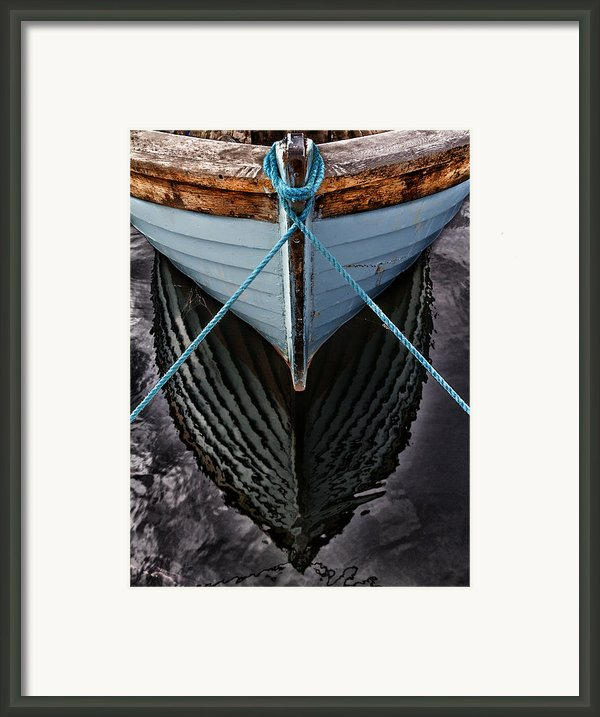 Dark Waters Framed Print By Stylianos Kleanthous