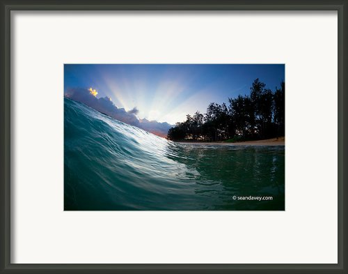 Dawn Rising. Framed Print By Sean Davey