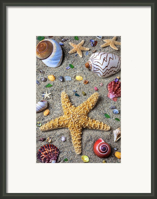 Day At The Beach Framed Print By Garry Gay