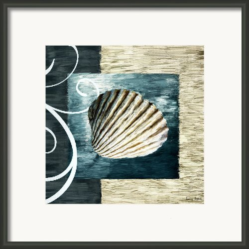 Day At The Beach Framed Print By Lourry Legarde