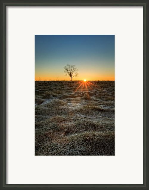 Daybreak Framed Print By Bill  Wakeley