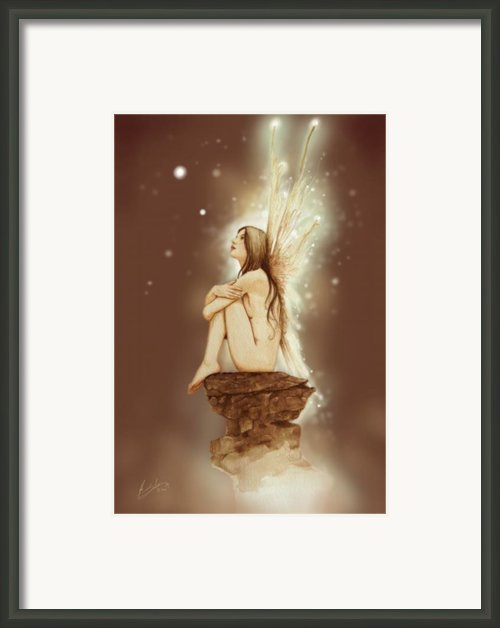 Daydreaming Faerie Framed Print By John Silver