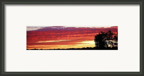 Days End Framed Print By Bruce Bley